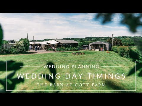 Wedding Planning Advice | How to Plan Timings for your Wedding Day