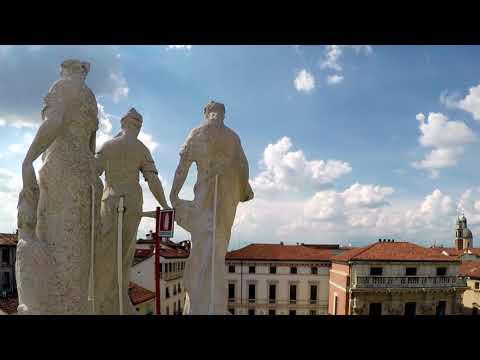 Time lapse 360° dalla terrazza della Basilica palladiana di Vicenza ...