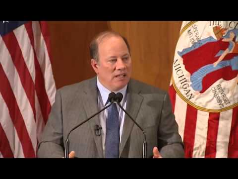 Detroit Mayor Mike Duggan State of The City Highlights: Car Insurance