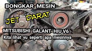 Di awal video ini selain bongkar mesin kami juga terangkan tentang pemasangan top timing belt Mitsubishi Galant hiu v6 dan di Ahir video juga kami jelaskan ...