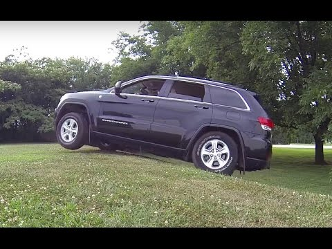 2014 Jeep Grand Cherokee Quadra Trac 2 Testing Youtube