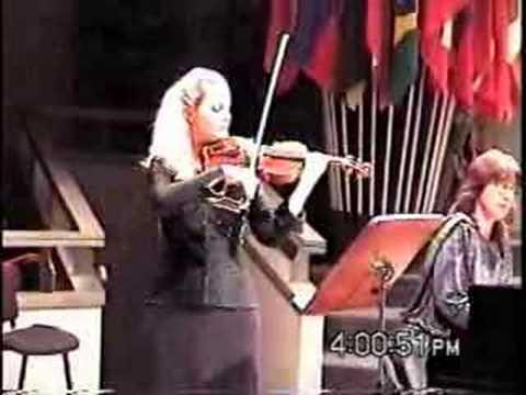 Mozart Violin Sonata B flat K454 3rd mvt - Rosalie Macmillan