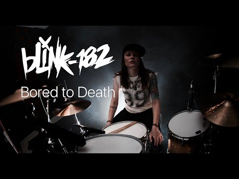 Blink-182 - Bored to Death (drum cover by Vicky Fates)