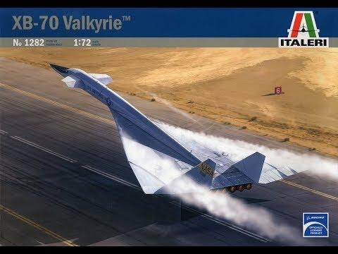 Italeri XB-70 Valkyrie 1/72 Part 1 (by Trevor)