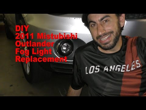 DIY 2011 Mitsubishi Outlander Fog Light Replacement