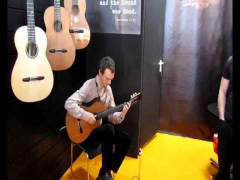 Kibin Guitars, Musikmesse 2012: Paul Belski (Medley)