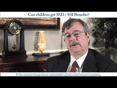 Can Children get Social Security Disability or SSI Benefits?