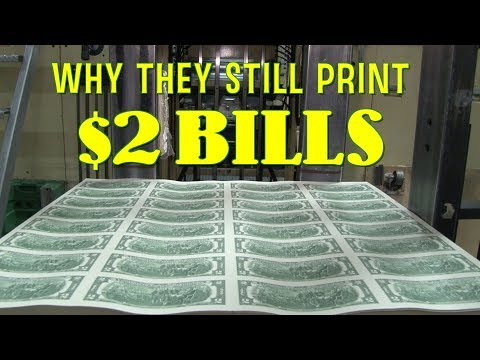 Why They Still Print $2 Bills - Bonus From The Two Dollar Bill Documentary