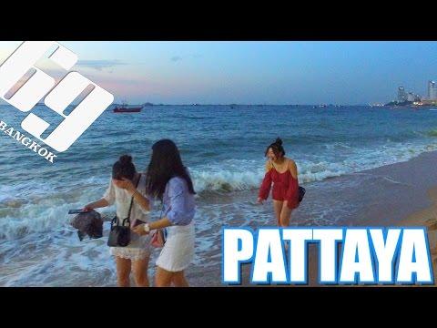 PATTAYA BEACH  , Thailand 2016 vlog 07