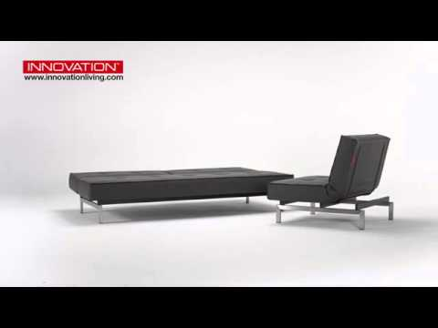 Innovation Living Splitback Sofa Bed And Chair