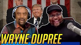 Black Veteran Wayne Dupree Celebrates Trump's State of the Union Address