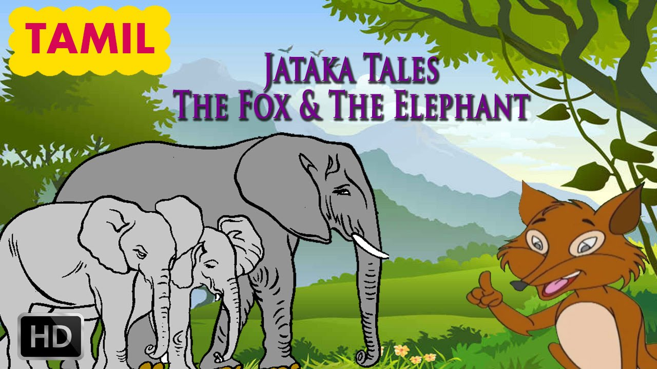 Jataka Tales - Tamil Moral Stories for Children - The Fox & The ...