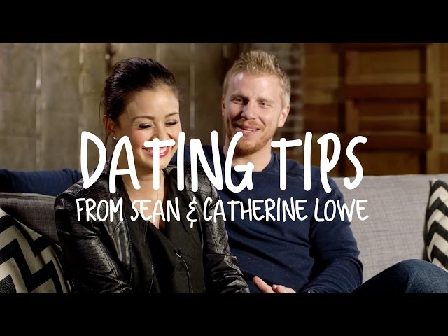 Dating Tips From The Bachelor\'s Sean & Catherine Lowe