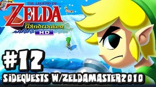 The Legend of Zelda Wind Waker HD Wii U - (2048p) Part 12 - Iron Boots & Gauntlets w/ZeldaMaster2010