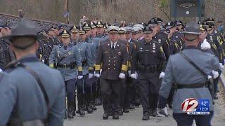 Thousands attend funeral for fallen K-9 officer
