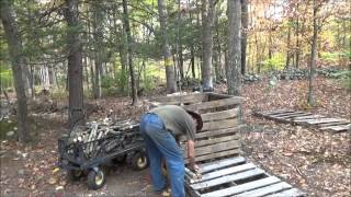 Busy Day At The Off Grid Homestead And Tiny House Construction O25