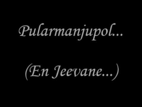 Pularmanjupol Nee (En Jeevane) Video Lyrics