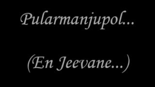 Pularmanjupol Nee (En Jeevane) Video Lyrics