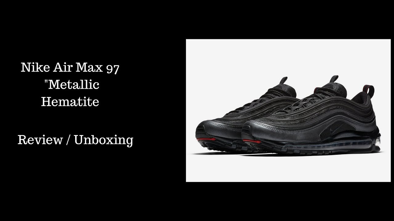 uk nike air max 97 le hematite black series 8ac5a e88a2
