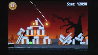 Angry Birds Halloween iPhone Gameplay Review - AppSpy.com