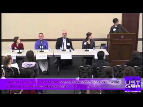 Job Fair Insider's Tips 2013 - UST Career Employer Panel