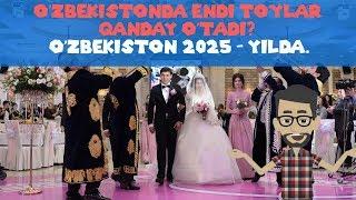 Tannafus - O'zbekistonda endi to'ylar qanday o'tadi? / O'zbekiston 2025 - yilda.