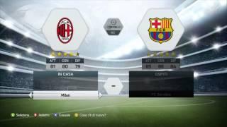 [FIFA 14 - XBOX-360 DEMO] - A.C.Milan VS F.C.Barcellona + Problemi Sony Vegas!