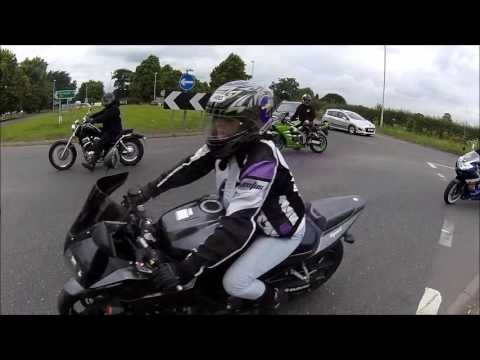 'YORKSHIRE BIKERS' Harrogate to Route 59 on way to Hawes,North yorkshire