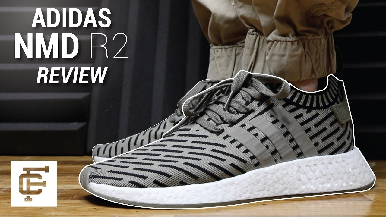 newest 3706e 3ff3e ADIDAS NMD R2 REVIEW - YouTube