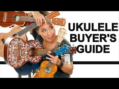 Ukulele Buyer's Guide (Beginners) Comparing Size, Brands, And Prices