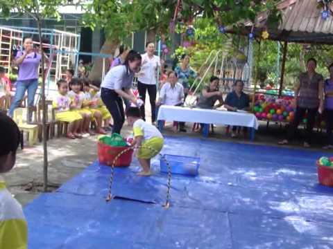 Hội thi bé khỏe bé nhanh trí - Trường Mầm Non Hoa Hồng
