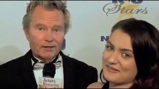 Actor John Savage at Night of 100 Stars with Actors Reporter
