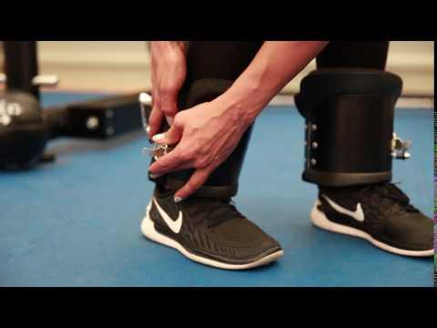 C.P. SPORTS Gravity Boots - Artikelnr.: G29 - Richtig Anlegen