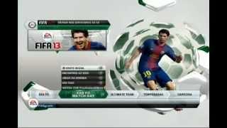 Globo Esporte testa e mostra o FIFA13