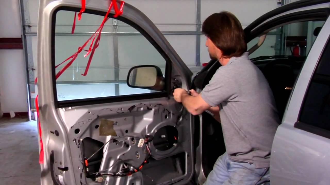 Car Repair & Maintenance : How to Replace a Car Door Mirror  YouTube