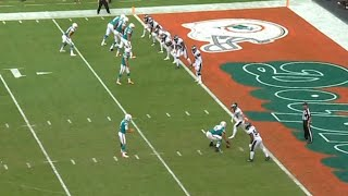 Dolphins Crazy Trick Play Touchdown | Eagles vs. Dolphins | NFL
