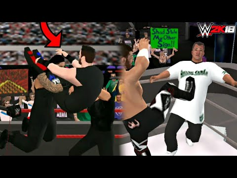 WWE 2K18 ANDROID -The shield triple powerbomb Hack moves WWE 2K18/WWE SVR11