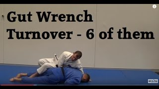 Multiple entries into the gut wrench turnover