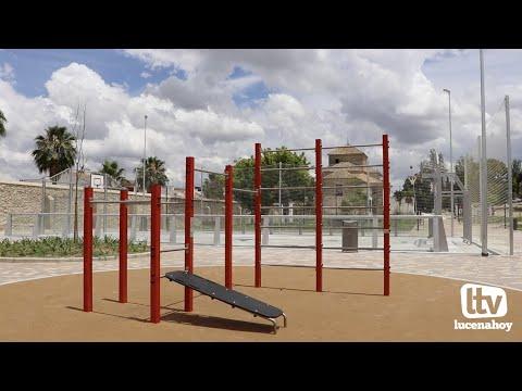 VÍDEO: El ayuntamiento recepciona parcialmente y abre a la ciudad el nuevo parque y la zona deportiva de El Carmen
