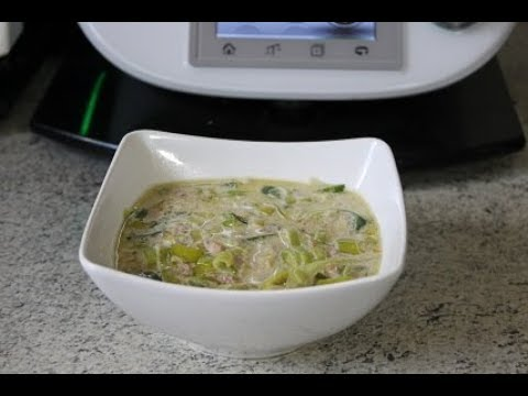 Thermomix abnehmende Zwiebelsuppe