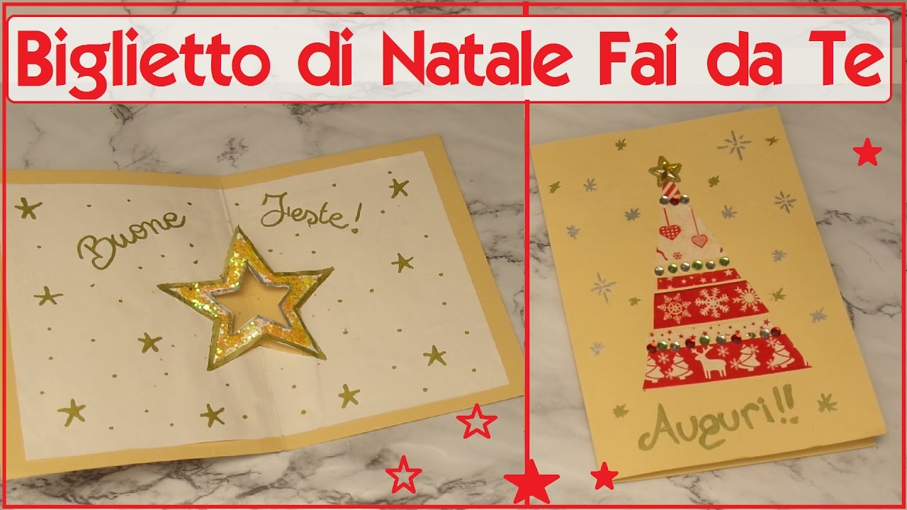 Biglietto di natale fai da te con il washi tape youtube for Panchine fai da te