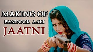 Making Of Bandook Aali Jatni | Masoom Sharma | Surender Dhaka | Rinku Tomar | Hr Song