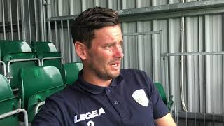 Bala Town friendly - Post-match chat with Simon Spender