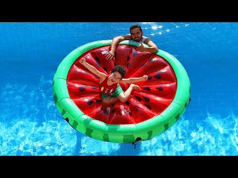 Baixar Yusuf ve Dayısı Havuzda Çok Eğlendi | fun in the pool