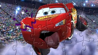 Lightning McQueen/ Cars puzzles. Пазлы Молния Маквин/ Тачки. Puzzles for kids.