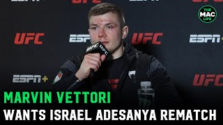 Marvin Vettori reacts to Kevin Holland win: