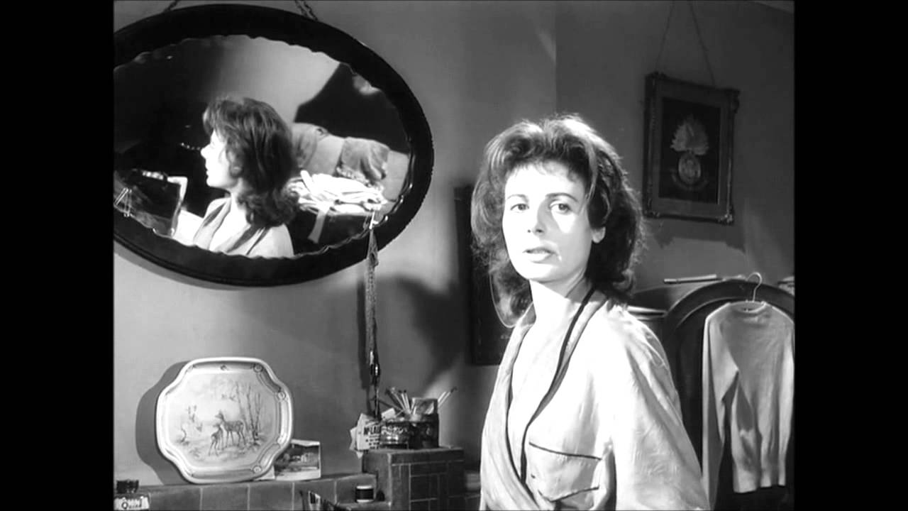 Woman in a dressing gown (1957) - the eternal triangle - YouTube