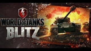 World of Tanks Blitz WOT gameplay SPIC EP105(03/01/2018)
