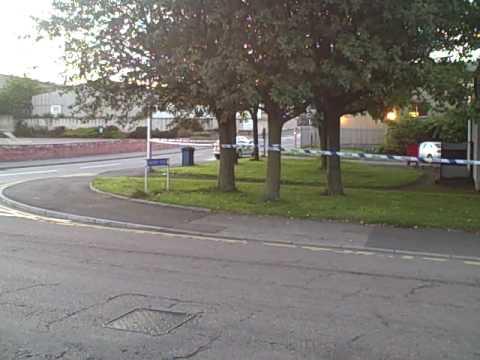 Robbery bid on Aberdeen security van