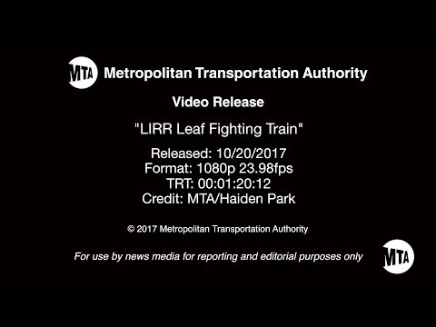 The MTA released information about slippery track conditions earlier this year.